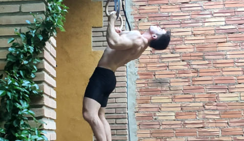 Arched Pull Ups