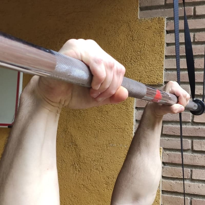 Overhand Bar Grip
