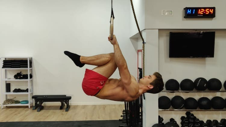 Tuck front lever