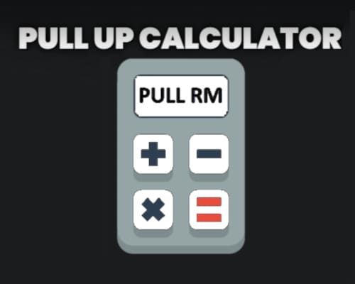 Weighted pull up calculator